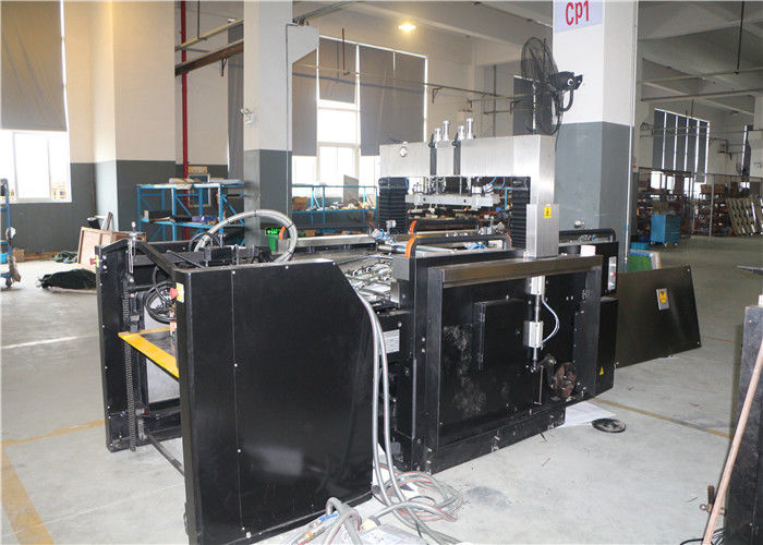 CE Standard Automatic Silk Screen Printing Machine Swing Stop Cylinder Screen Printer
